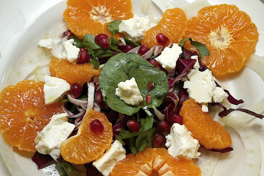 Citrus Cheese Salad