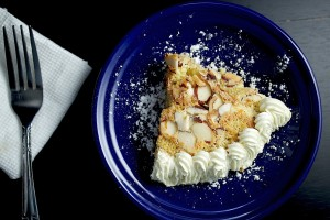 Almond Apricot Torte by Faye Nwafor